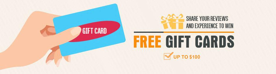 Earn Free Gift Cards by Sharing Your Experience | GearBest.com